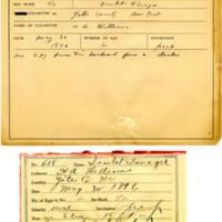 Thomas Wilmer Dewing, egg card # 491