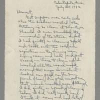 1942-07-25 Laura Davis to Lloyd Davis Page 1