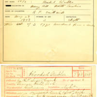Thomas Wilmer Dewing, egg card # 792u