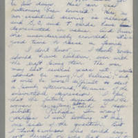 1943-06-10 Bessie Rector to Laura Frances Davis Page 4