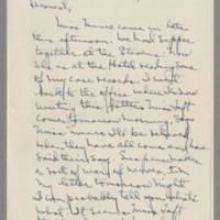 1942-01-19 Laura Davis to Lloyd Davis Page 1