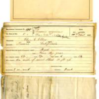 Thomas Wilmer Dewing, egg card # 331