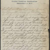 1917-10-08 Harvey Wertz to Mr. L.A. Wertz Page 3