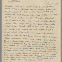 1942-12-08 Lloyd Davis to Laura Davis Page 1