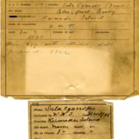 Thomas Wilmer Dewing, egg card # 069