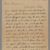1945-05-10 Maurice Hutchison to Laura Frances Hutchison