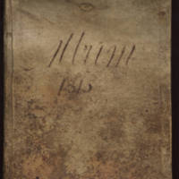 English cookbook, 1815