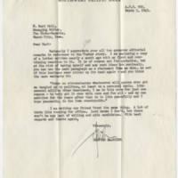 1943-03-03 Hanford MacNider to W. Earl Hall