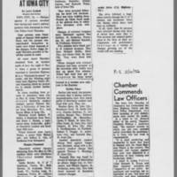 """1972-05-19 Des Moines Register Article: """"""""Find 4 Guilty At Iowa City"""""""""""