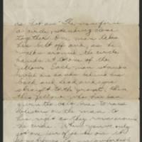 1918-03-21 Thomas Messenger to Vera Wade Page 2