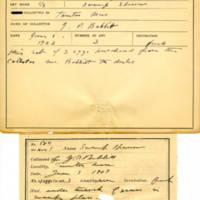 Thomas Wilmer Dewing, egg card # 731u
