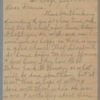 1945-07-01 Laura Hutchison to Laura Frances Davis Page 1