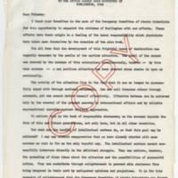 1947-10-23 Message of Albert Einstein to the Atomic Energy Week Committee of Burlington, Iowa