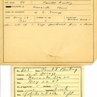 Thomas Wilmer Dewing, egg card # 744u