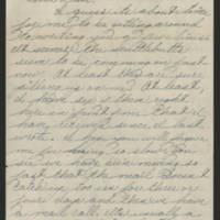 1945-04-30 Pfc. Eddie Prebyl to Dave Elder Page 1
