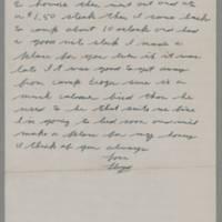 1943-01-18 Lloyd Davis to Laura Davis Page 2