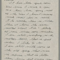 1945-02-21 Lloyd Davis to Laura Davis Page 1