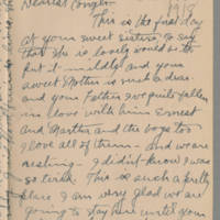 1918-08-18 Emily Reynolds to Conger Reynolds Page 1