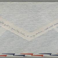 1944-01-23 Helen Fox to Bess Peebles Fox Page 6 - Envelope back