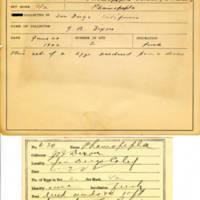 Thomas Wilmer Dewing, egg card # 759u
