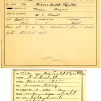 Thomas Wilmer Dewing, egg card # 347