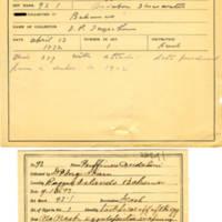 Thomas Wilmer Dewing, egg card # 062