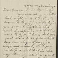 1917-04-25 Conger Reynolds to Emily Reynolds Page 1