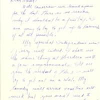 Nile Kinnick correspondence, January-May 1940
