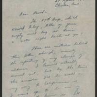 1945-04-30 Sgt. John T. Stewart to Dave Elder Page 1
