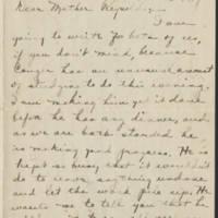 1917-12-30 Daphne Reynolds to Emily Reynolds Page 1