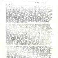 Nile Kinnick correspondence, January-December 1941