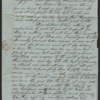 1849-04-24 Gabriel Billmire to Mannassa Meyers Page 1