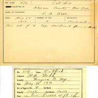 Thomas Wilmer Dewing, egg card # 797u