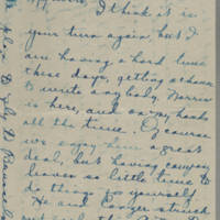 1919-07-15 Conger and Daphne Reynolds to Mary Goodenough Page 1