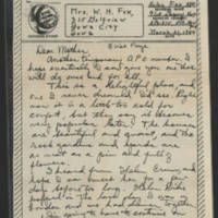 1944-03-31 Helen Fox to Bess Peebles Fox Page 1