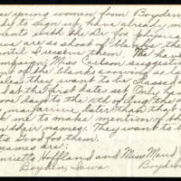 1918-08-07 Viola Goebel to Mrs. Frances Whitley Page 2