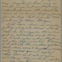 1945-08-22 Pfc. Eddie Prebyl to Dave Elder Page 2
