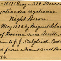 Clinton Mellen Jones, egg card # 051