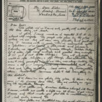 1945-03-11 Pfc. Robert Hinds to Dave Elder
