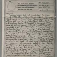 1943-04-26 Laura Davis to Lloyd Davis