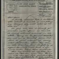 1945-03-01 Pfc. Harrison Knott to Dave Elder