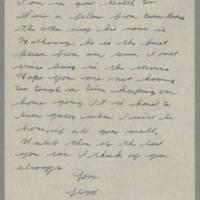 1945-02-21 Lloyd Davis to Laura Davis Page 2