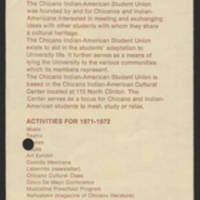 Flyer for Minority Cultural Centers Page 4