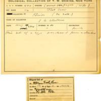 Thomas Wilmer Dewing, egg card # 396