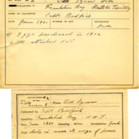 Thomas Wilmer Dewing, egg card # 116