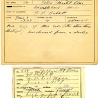 Thomas Wilmer Dewing, egg card # 506