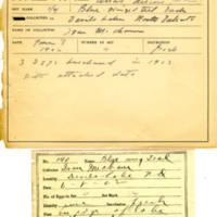Thomas Wilmer Dewing, egg card # 102