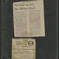 1971-09-16 Daily Iowan Article: 'To Hold service for Attica dead'