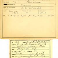 Thomas Wilmer Dewing, egg card # 726u