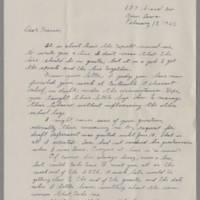 1942-02-18 Maurice Hutchison to Laura Frances Davis